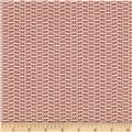 Magnolia Home Fashions Basket Weave Red