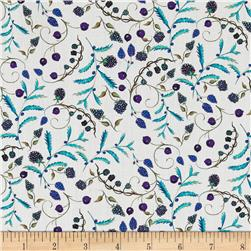 Liberty of London Tana Lawn Berry Dream White/Aqua