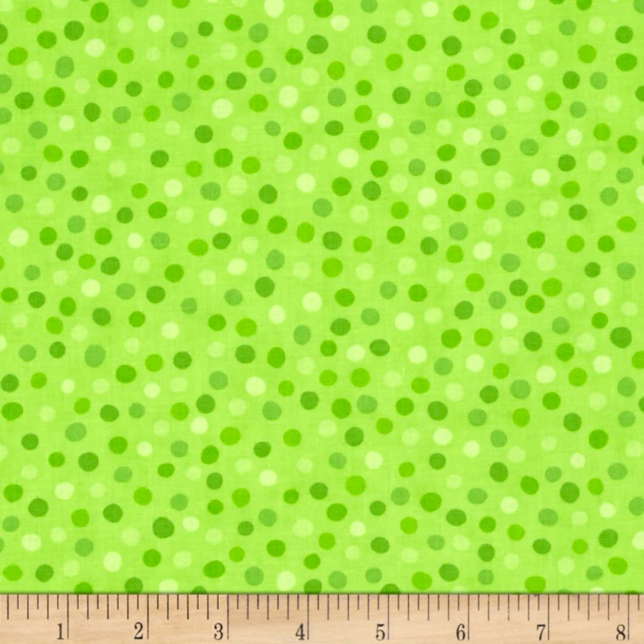 Moda Brighten Up! Dot Up Green
