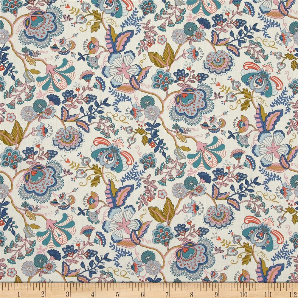 Liberty of London Contemporary Classic Tana Lawn Mabelle Multi/Pink