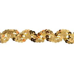 Team Spirit #50 Sequin Trim Gold