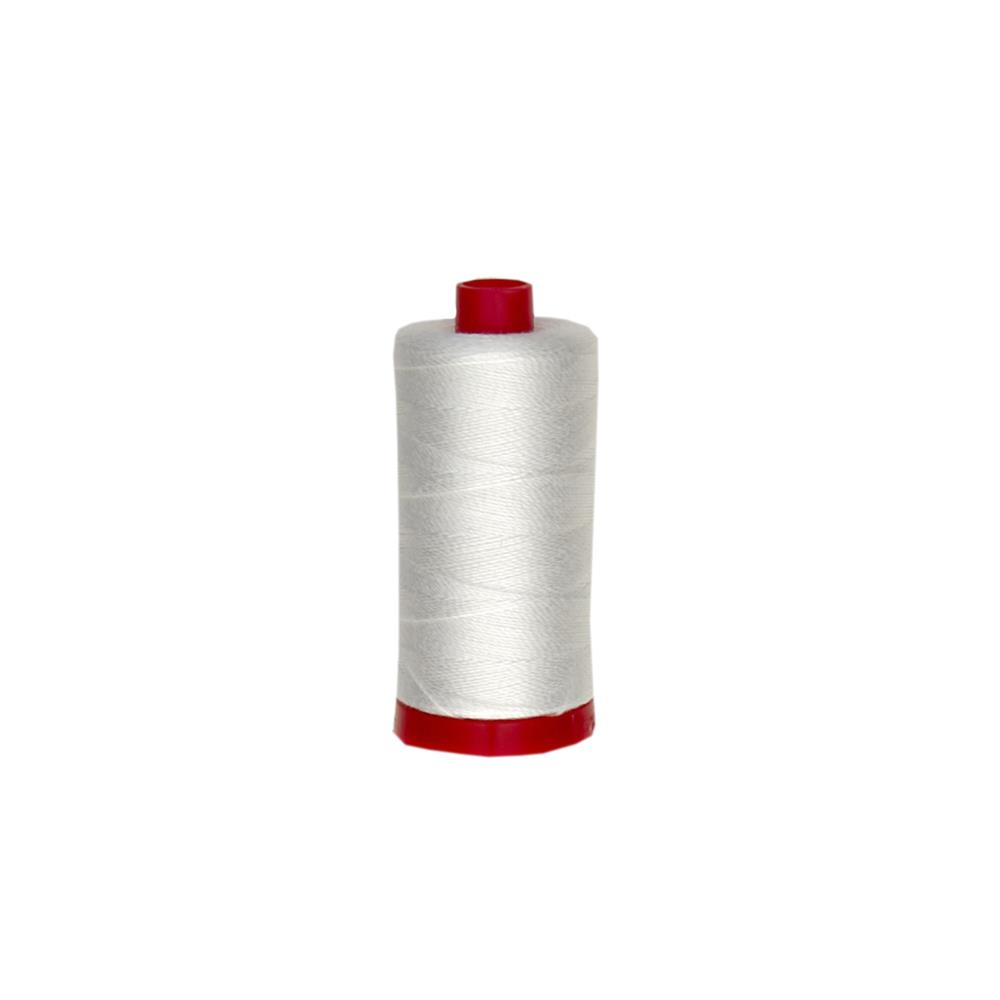 Aurifil 12wt Embellishment and Sashiko Dreams Thread Natural White