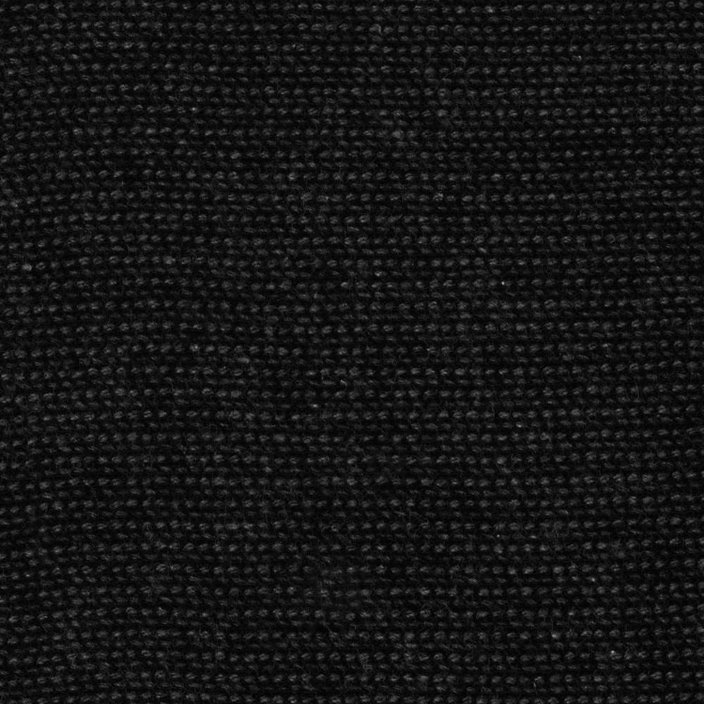 Bulky Stretch French Terry Knit Soft Black