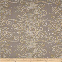 Enchantment Metallics Scroll Taupe