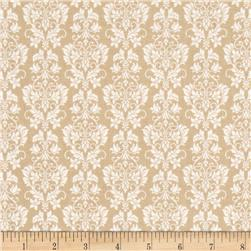 Riley Blake Rustic Elegance Damask Tan