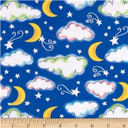 Starry Night Glitter Sky Royal