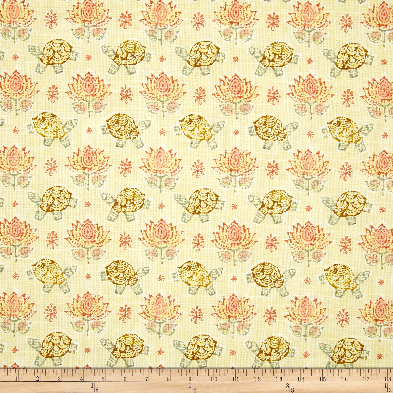 Waverly Mandana Slub Rosewater Fabric