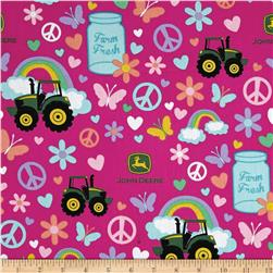 John Deere Pink Farm Fresh Multi