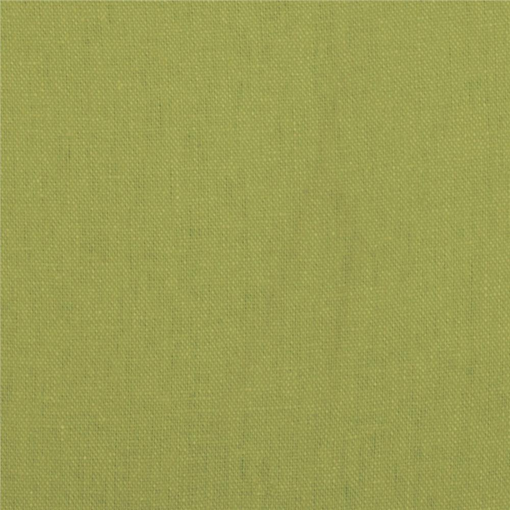Brussels Washer Linen Blend Lime