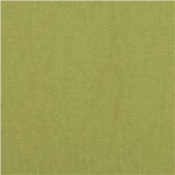 Kaufman Brussels Washer Linen Blend Lime Fabric