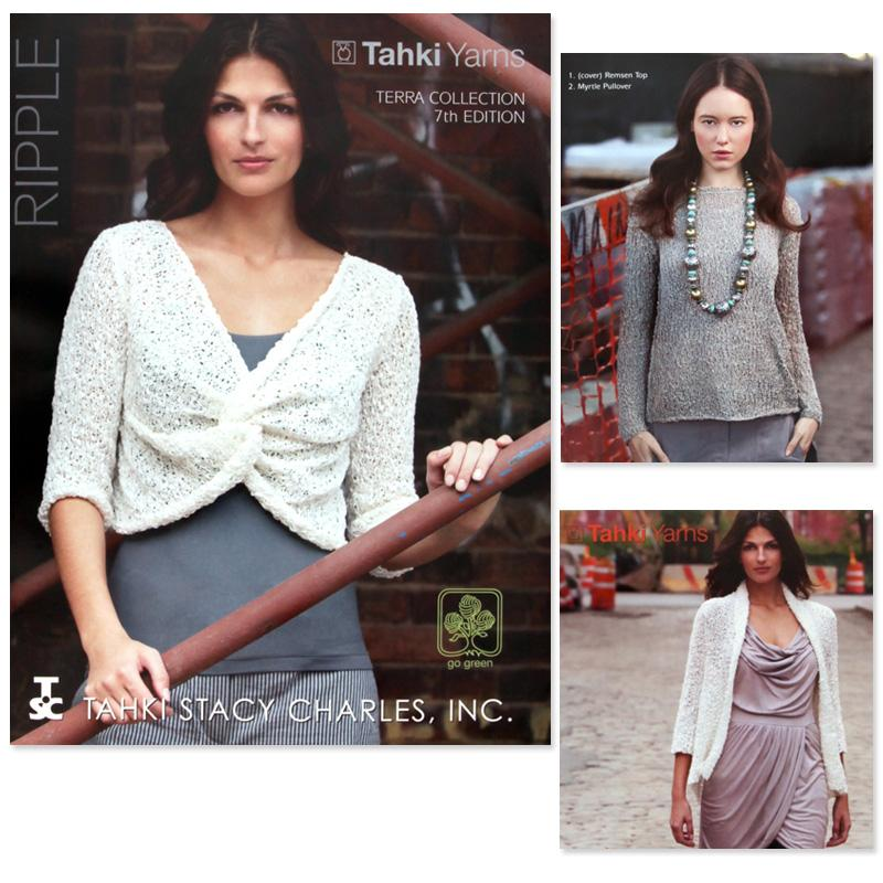 Tahki Stacy Charles Ripple Knitting Booklet