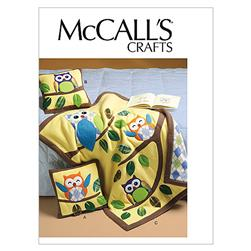 McCall's Pillows and Quilt Pattern M6482 Size OSZ