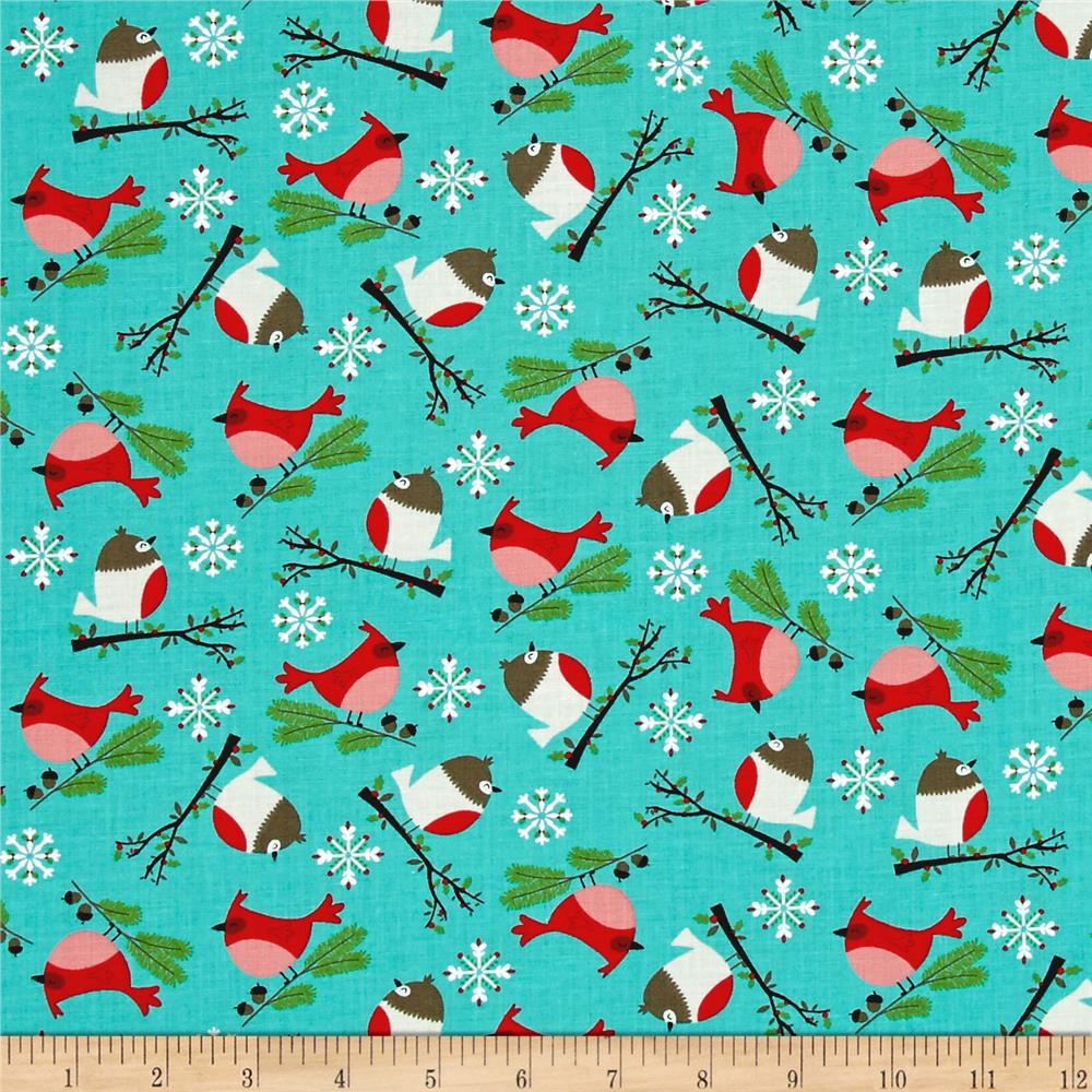 Moda Jingle Birds Bird Friends Bluebird