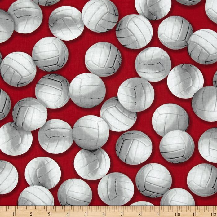 Kaufman Sports Life Volleyballs Red