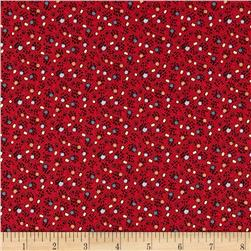 Penny Rose Victoria Dots Red