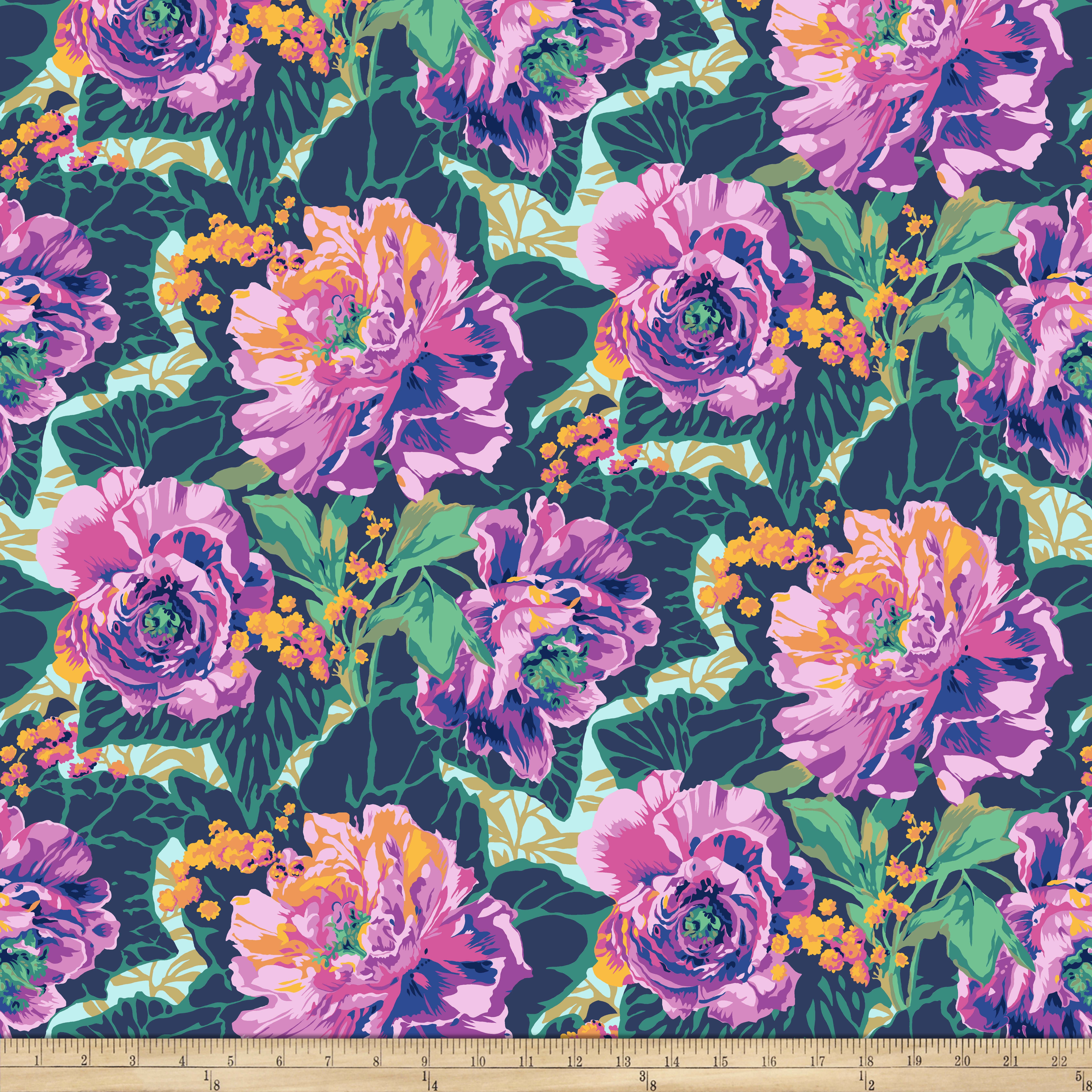 1920s Patterns – Vintage, Reproduction Sewing Patterns Philip Jacobs Roaring 20s Peony and Leaves Swing Fabric $9.99 AT vintagedancer.com