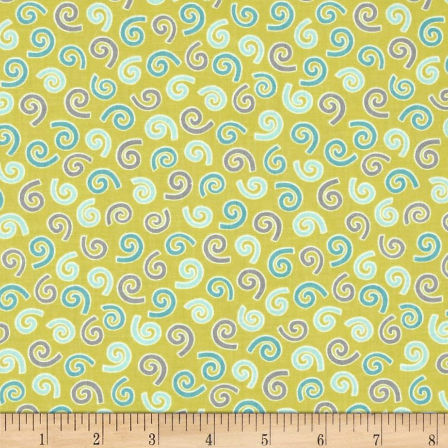 Savvy Swirls Allover Mini Swirls Green/Blue/Purple