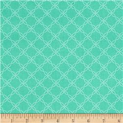 Maywood Studio Kimberbell Basics Lattice Teal