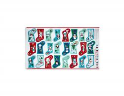 "Frosty Stocking Advent Calendar 24"" Panel Multi"