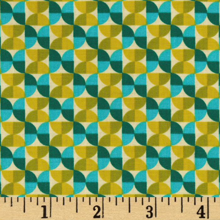 Joel Dewberry Notting Hill Hourglass Aquamarine Fabric