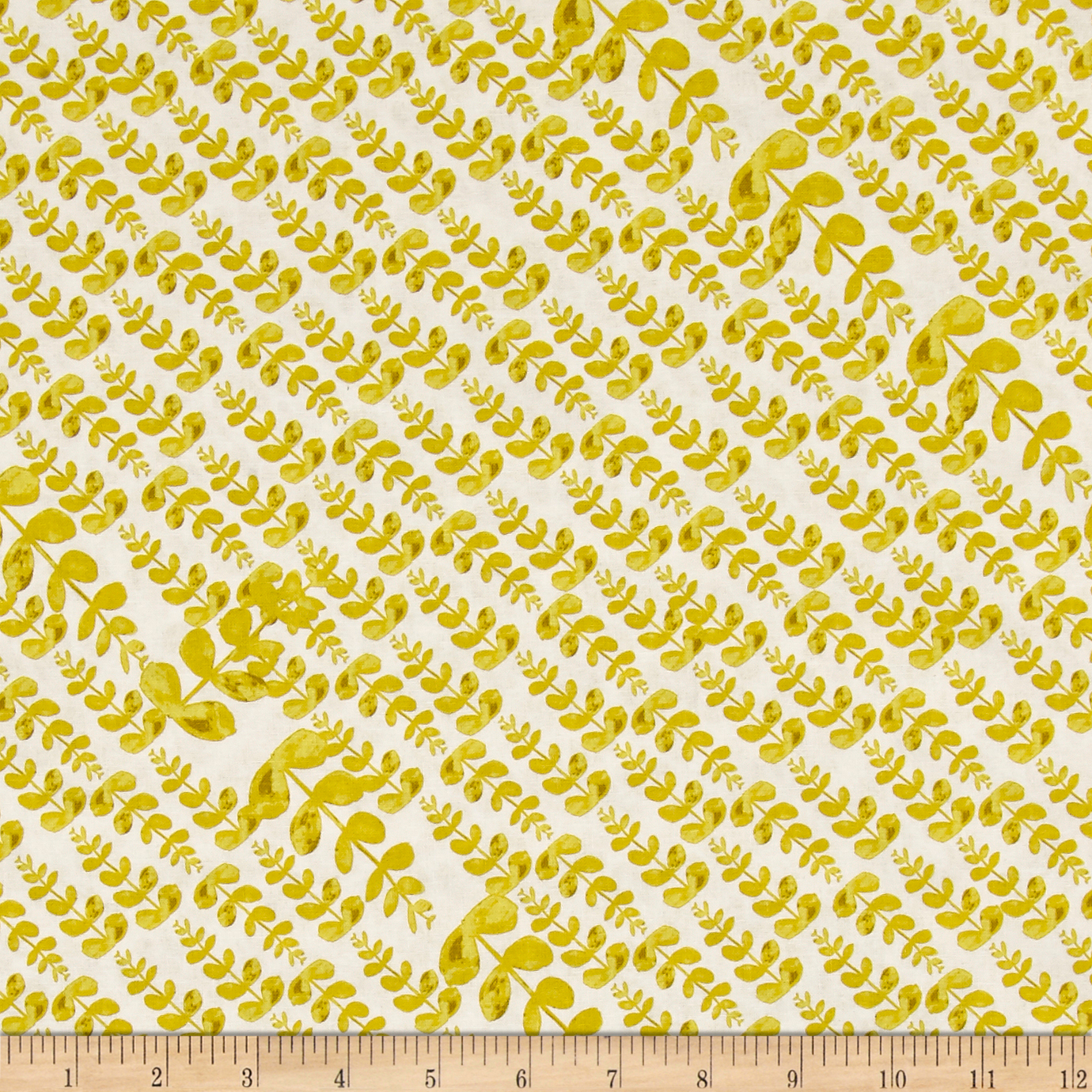 Tina Givens Rose Water Garden Pond Lime Fabric by Westminster in USA