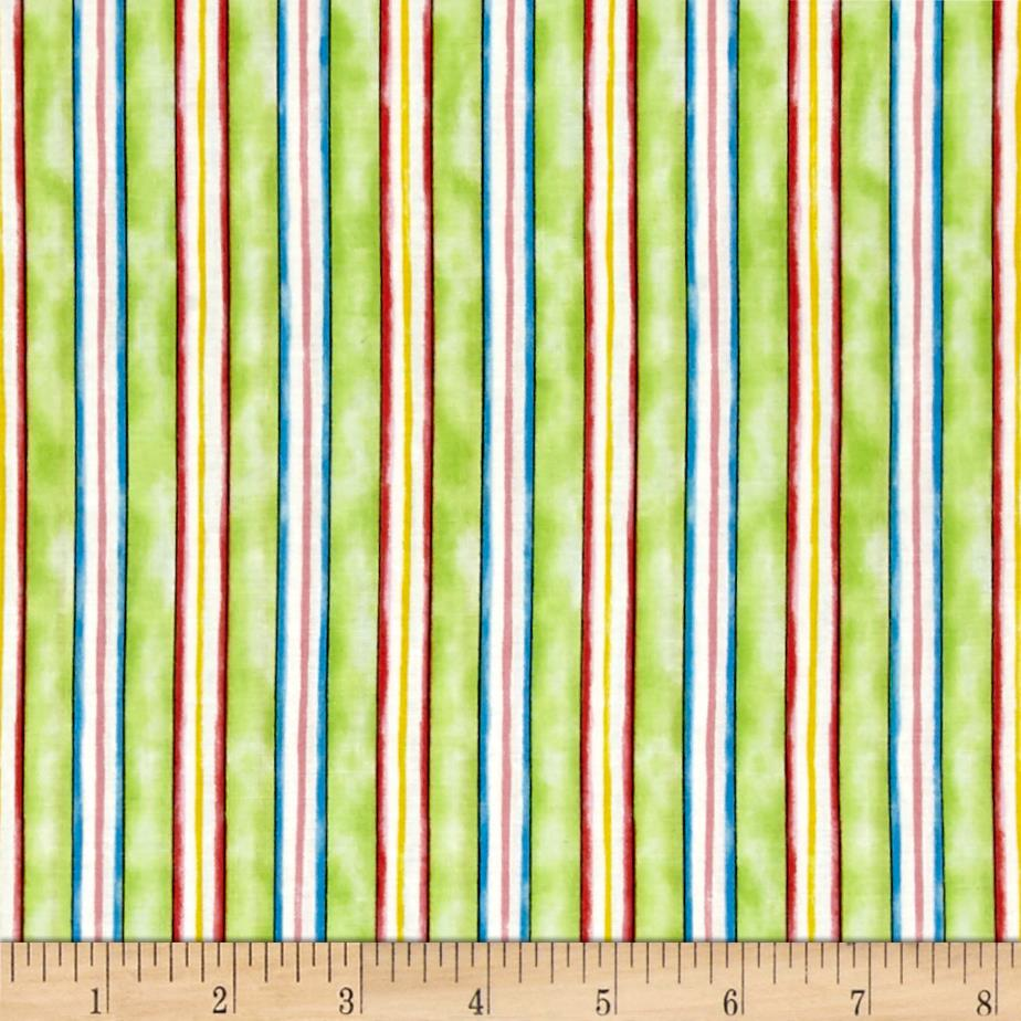 Happy Catz Stripe Green/Multi