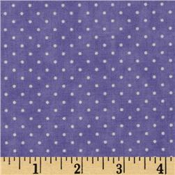 Moda Essential Dots (# 8654-32) Lilac Fabric