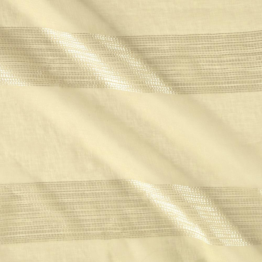 Eroica Homely Embroidered Stripe Sheers Khaki