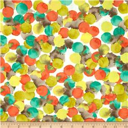 Michael Miller Painterly Bubbly Retro