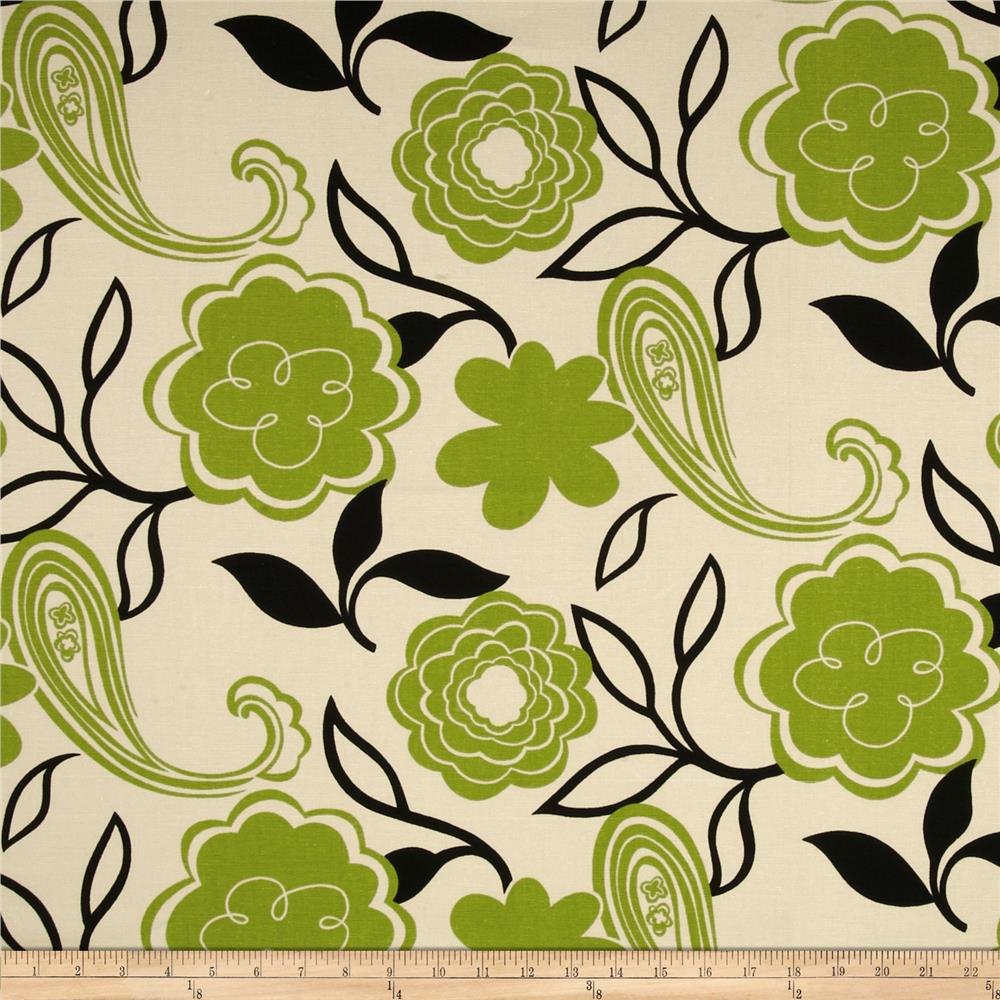 Georgette Home Decor Jaime Floral Tan/Green