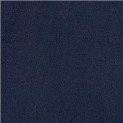 Kaufman Chamonix Cotton Moleskin Navy Fabric