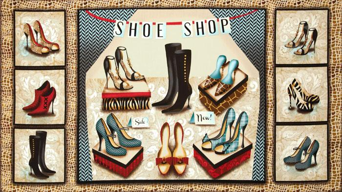 Sassy Shoes Shoe Store Panel Multi