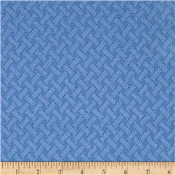 Nautica Indoor/Outdoor Coastal Cove Harbor Blue