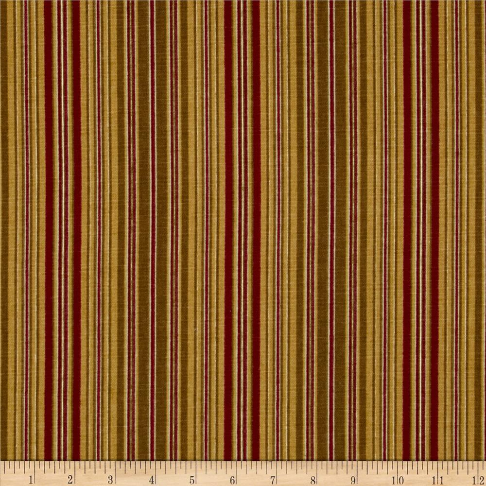 Madison Home Decor Monahue Stripes Gold