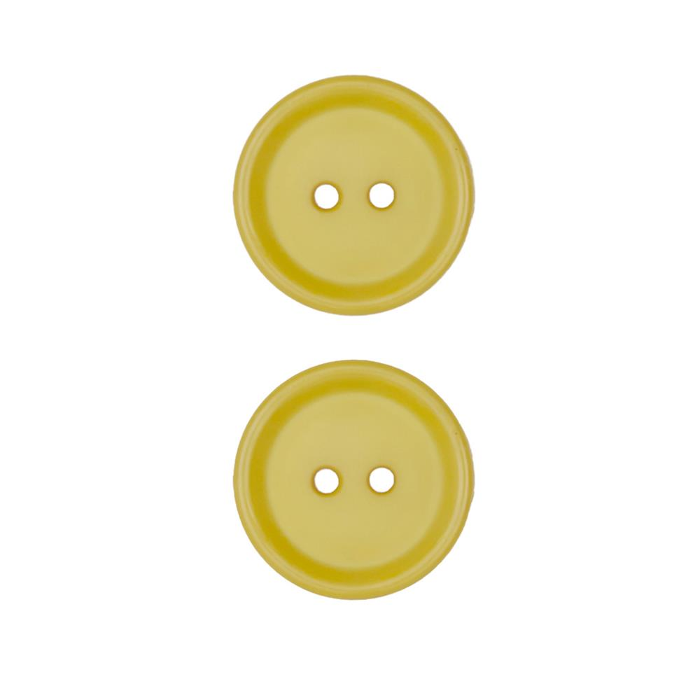 Dill Buttons 11/16'' Polyamid Button Yellow