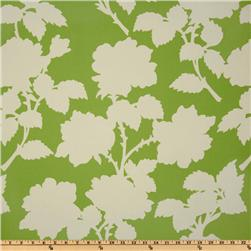 Heather Bailey Garden District Nouvelle Rose Canvas Green