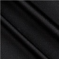 Textured Designer Double Knit Black