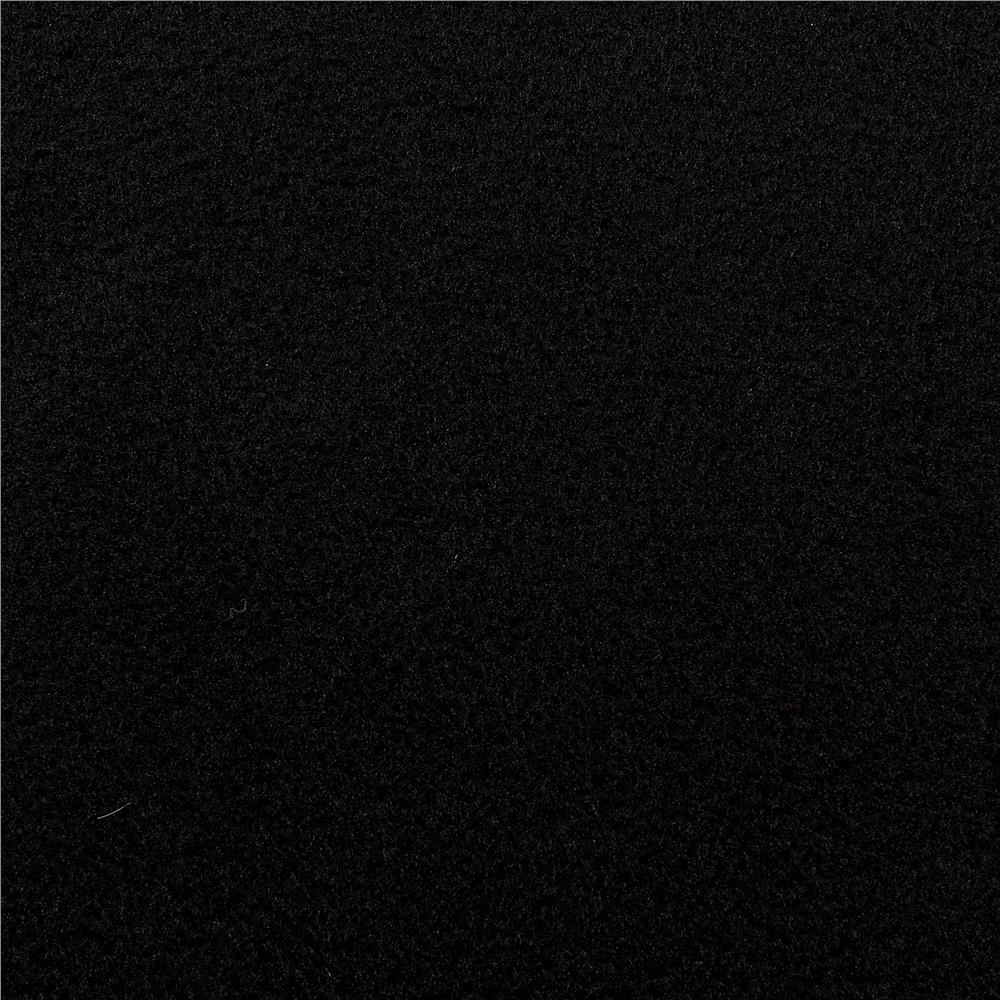 Winterfleece velour black discount designer fabric for Black fabric