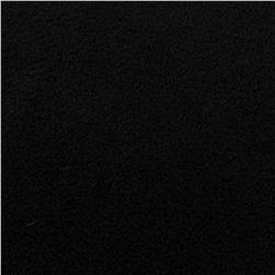 WinterFleece Velour Black Fabric