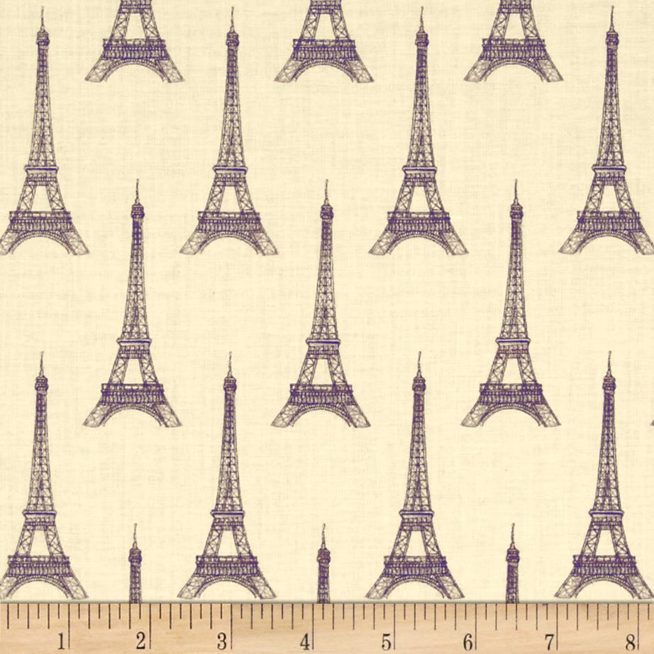I Dream Of Paris Eiffel Tower Tan