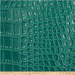Fabricut Aluminum Faux Leather Teal