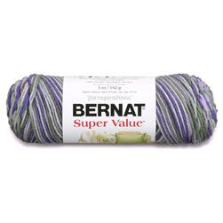 Bernat Super Value Ombre Yarn Fresh Lilac
