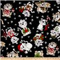 Loralie Designs Kittie Blizzard Black