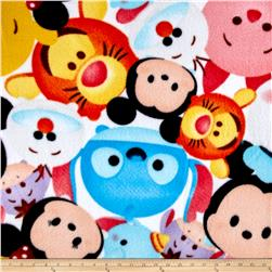 Disney Tsum Tsum Mickey And Friends Fleece Mulit