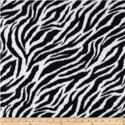 Fleece Zebra Stripe Black/White