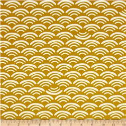 Koi Organic Cotton Canvas Smile & Wave Reed