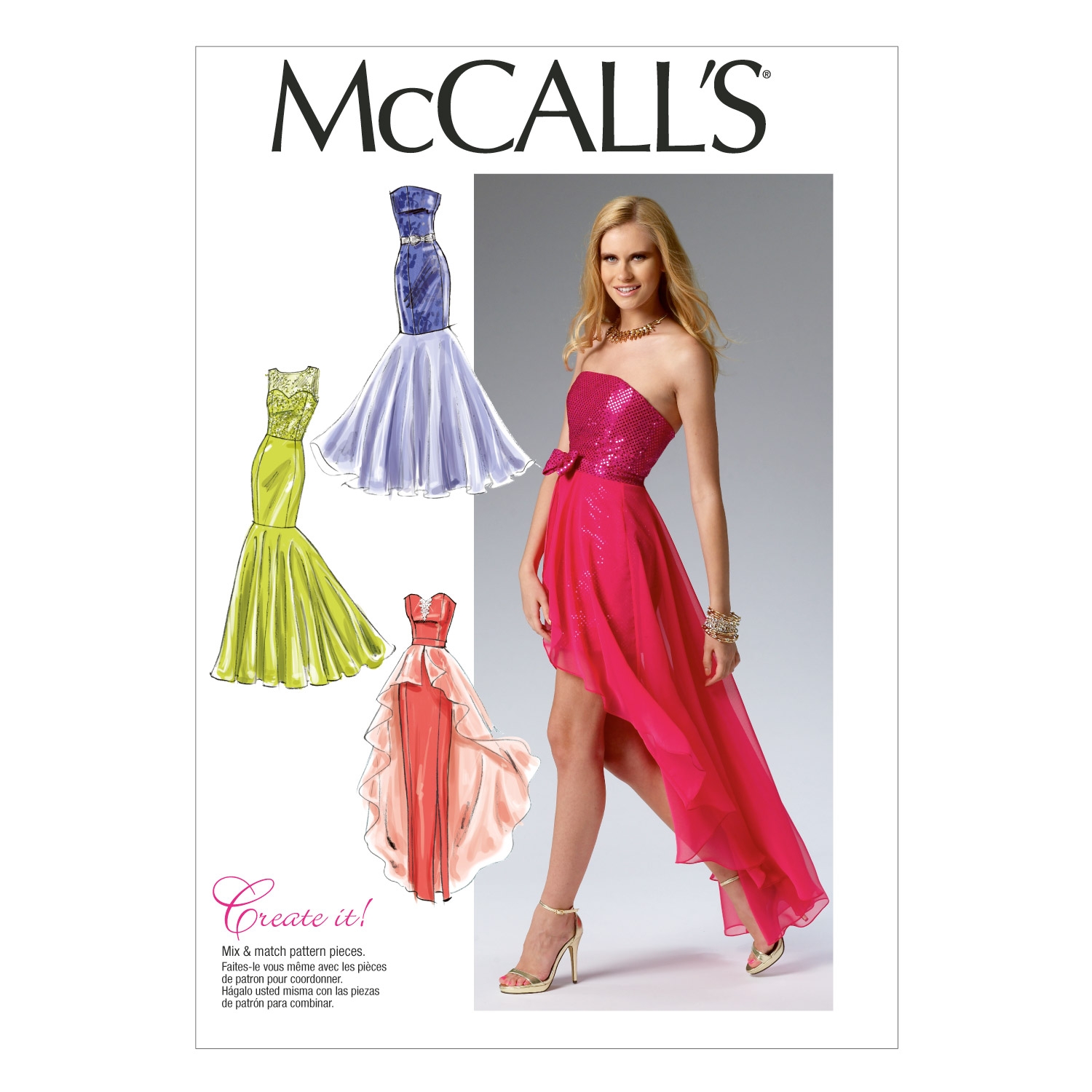 McCall's Misses Dress Pattern M6838 Size A50 by Kwik Sew in USA