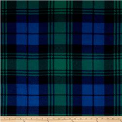 Tartan Fleece Green/Navy