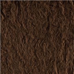 Alpaca Faux Fur Brown