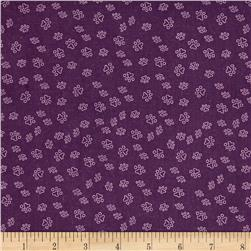 Chi Chi Paw Prints Purple